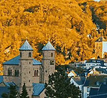 Autumn in Bad Muenstereifel by Vac1