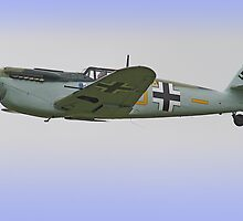 Me 109 Bouchon - Shoreham Airshow 2012 by Colin J Williams Photography