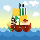 Pirate ship by alapapaju