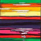Multi-colour Lines by Gillian Sinclair