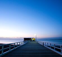 The Historic Queenscliff Jetty by John Sharp