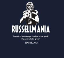 Russell Wilson - Seattle Seahawks, 2012 II by Benners