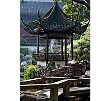 Chinese Gazebo Photographic Print