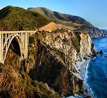 Bixby Bridge by jswolfphoto