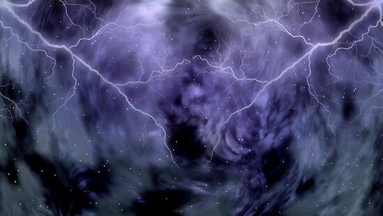 At Ceti Tau - Quadtrant X Trickster Loki Nebula by Sazzart