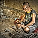 Carving - Please Enlarge by Charuhas  Images