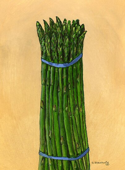 asparagus for us by bernzweig