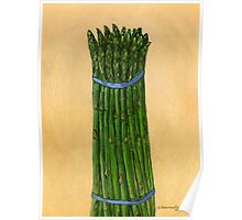 asparagus for us Poster