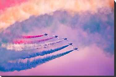 Southport Air Show - Red Arrows by Paul-M-W