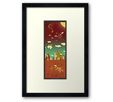 The end of the world as we know it! Framed Print