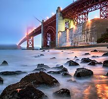 Golden Gate Wide by jswolfphoto