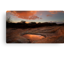 Rounding Out Canvas Print