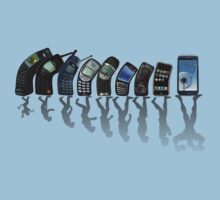 Phones evolution by yossi rabinovich