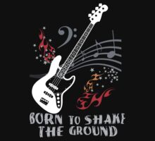 Born to Shake the Ground - Jazz Bass by Larissa Redeker