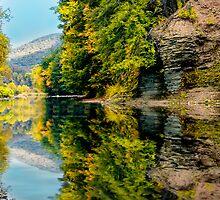 Pine Creek Reflection by KellyHeaton