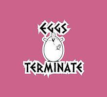 Eggs Terminate Pink by Mark Walker