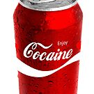 Enjoy Cocaine in a Can by HighDesign