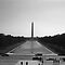 BW USA Washington Monument 1970s by blackwhitephoto