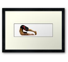 Fit to Fight Framed Print