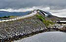 The Highest Bridge on the Atlantic Road, Norway by Gerda Grice