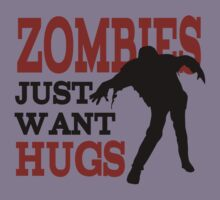 Zombie want hug by luckydevil