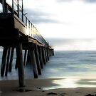 Wooden Jetty by Ryan Carter