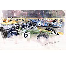 Germany GP Nurburgring 1969  Photographic Print