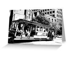 San Francisco Cable Greeting Card