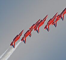 Red Arrows - Dunsfold 2012 by Colin J Williams Photography