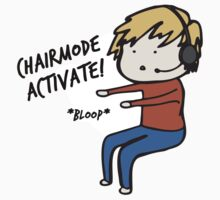 Chairmode Activate! - Sticker by AshWarren