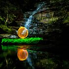 Somersby Falls - having a ball by Jason Ruth