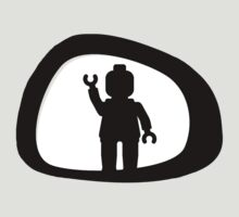 View from a Car Wing Mirror by Customize My Minifig by ChilleeW