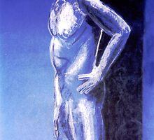 Blue Body and Snow by Ashoka Chowta