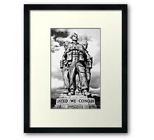 Royal Marine Commando Framed Print