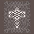 Celtic Cross on Celtic Knot by chromedreaming
