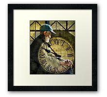 Old Man Time Framed Print