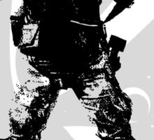 Aliens Movie - Colonial Marines Trooper Sticker