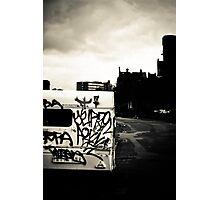 Black & White Town Photographic Print
