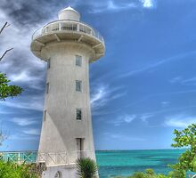 Eastern Road Lighthouse in Nassau, The Bahamas by 242Digital