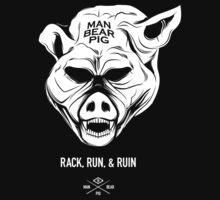 ManBearPig - Rack Run Ruin T-Shirt