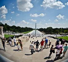 Washington Monument 4 by Gustavo Bernal