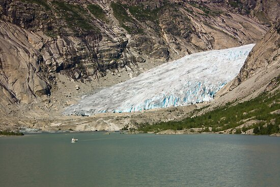 Nigardsbreen glacier by Dominika Aniola