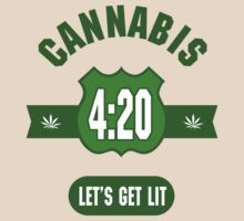 Cannabis 420 by MarijuanaTshirt