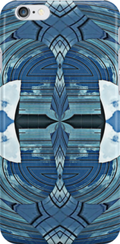 Blu skY abStraCt - iPhone & iPod skin / deflector by Scott Mitchell