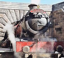 The Hogwarts Express by Serdd