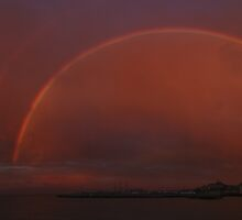San Francisco Golden Rainbow by fototaker