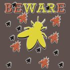 BEWARE - BEE WAR (v.2) by ezcreative