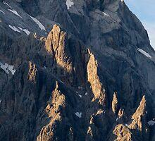 Alpine Hut by Walter Quirtmair
