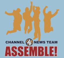 Anchorman - News Team Assemble Kids Clothes