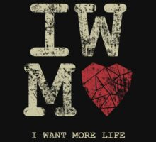 I Want More Life by robotrobotROBOT
